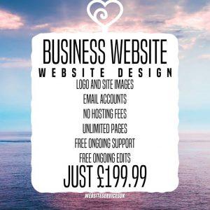 30 pages website designed
